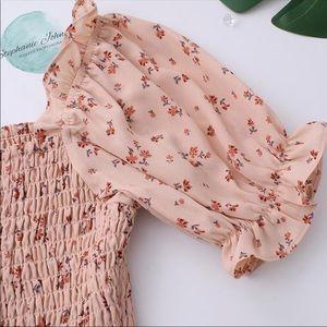 Dresses - Floral babydoll dress